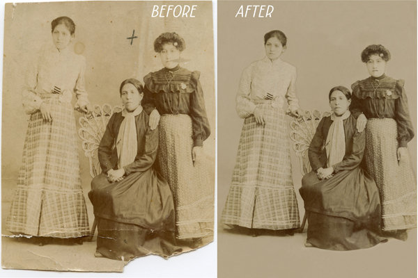 Damaged-Photo-Restoration-Pearland-Houston