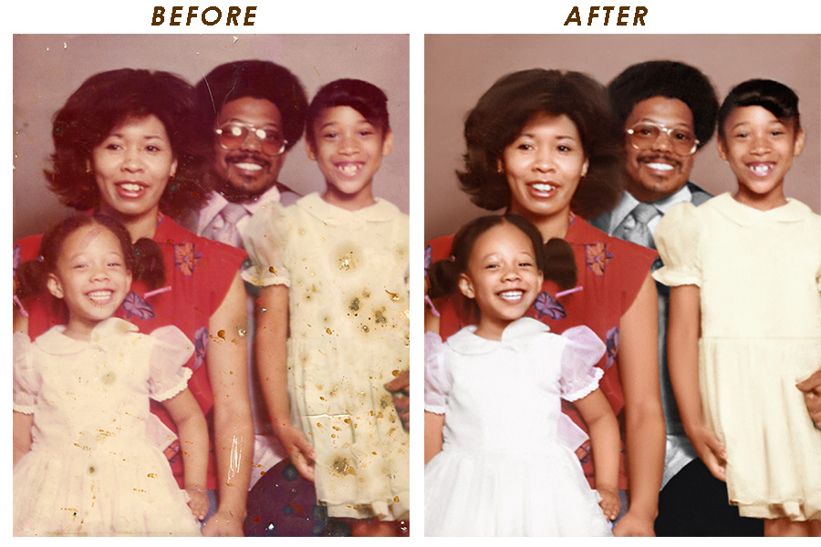 Damaged-Photo-Restoration-Manvel-Houston-Friendswood